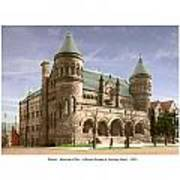 Detroit - The Museum Of Art - Jefferson Avenue At Hastings Street - 1905 Poster