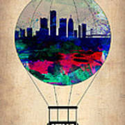 Detroit Air Balloon Poster