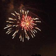 Detroit Area Fireworks -1 Poster