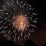 Detroit Area Fireworks -10 Poster