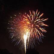 Detroit Area Fireworks -2 Poster