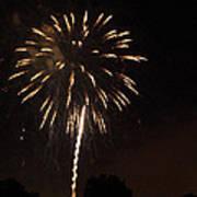 Detroit Area Fireworks -6 Poster
