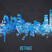 Detroit Michigan Usa Poster