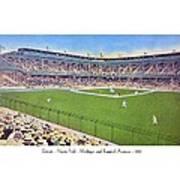 Detroit - Navin Field - 1922 Poster