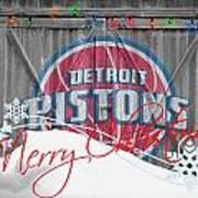 Detroit Pistons Poster