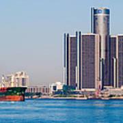 Detroit Renaissance Center Poster