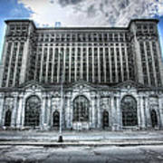 Detroit's Abandoned Michigan Central Train Station Depot Poster
