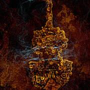 Devils Fiddle Poster by Fran Riley