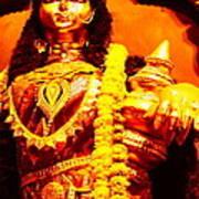 Dhanalakshmi-the Hindu Goddess Of Wealth Poster