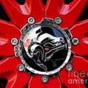 Diablo Wheel Hub Poster