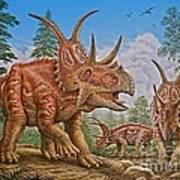 Diabloceratops Poster