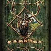 Diamond Elk Poster