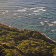 Diamond Head Lighthouse Poster