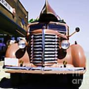 Diamond T Truck - Sahara Poster