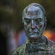 Diego Fernando Montanes Alvarez Statue Cadiz Spain Poster