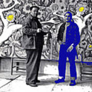 Diego Rivera Ted Degrazia  Mexico City Mexico Circa 1942-2013 Poster
