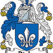 Digby Coat Of Arms Irish Poster