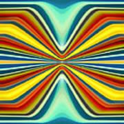 Digital Art Pattern 8 Poster by Amy Vangsgard