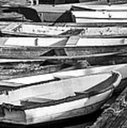 Dinghies - Perkins Cove Maine Poster