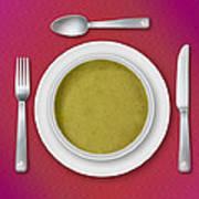 Dinner Setting 01 Poster