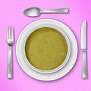Dinner Setting 03 Poster