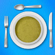 Dinner Setting 05 Poster