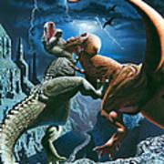 Dinosaur Canyon Poster