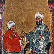 Dioscorides And Student Poster