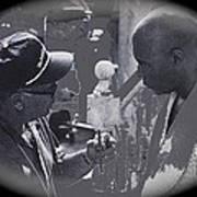 Director Martin Ritt And James Earl Jones Number 2 The Great White Hope Set Globe Arizona 1969-2013 Poster