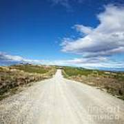 Dirt Road Otago New Zealand Poster by Colin and Linda McKie