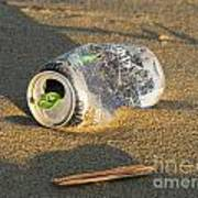 Discarded Energy Drink Can Poster
