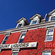 Discount Liquor Store Poster
