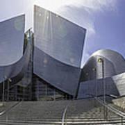Disney Concert Hall Los Angeles Poster
