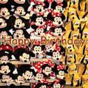 Disney Cuddlies Poster
