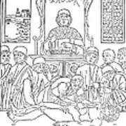 Dissection Lesson, 1493 Poster