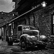 Distillery District Toronto Mono Poster