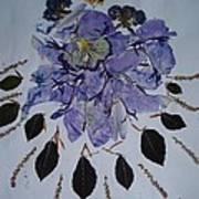 Distorted Flower-dream Poster