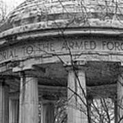 District Of Columbia World War I Memorial Poster