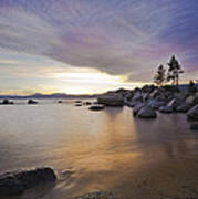 Divers Cove At Sand Harbor Poster
