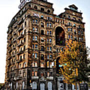 Divine Lorraine Hotel In Philadelphia Poster