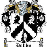 Dobbs Coat Of Arms Irish Poster