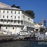 Dock At Alcatraz Island Poster