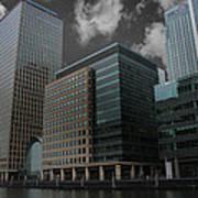 Docklands London Poster
