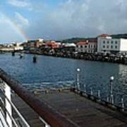 Dockside Rainbow  Poster