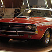 Dodge 1971 Challenger R/t Poster