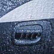 Dodge Charger Frozen Car Handle Poster