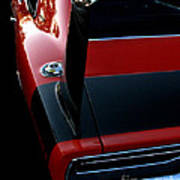 Dodge Daytona Fin Poster