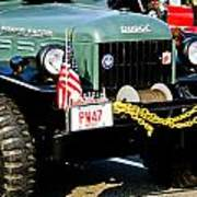 Dodge Power Wagon Front End Poster