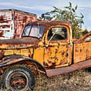 Dodge Power Wagon Wrecker Poster