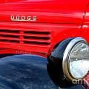 Dodge Truck Poster